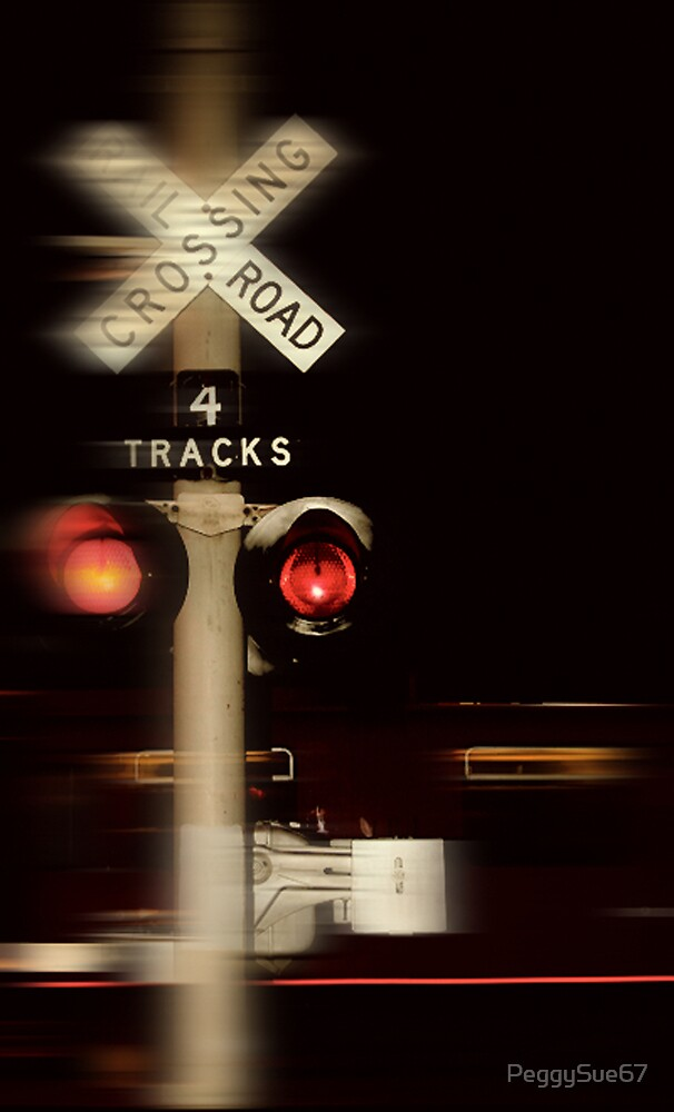 4 Tracks Crossing by PeggySue67