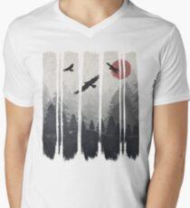 EagleLand Men's V-Neck T-Shirt