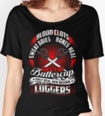 SUCK IT UP LOGGERS Women's Relaxed Fit T-Shirt