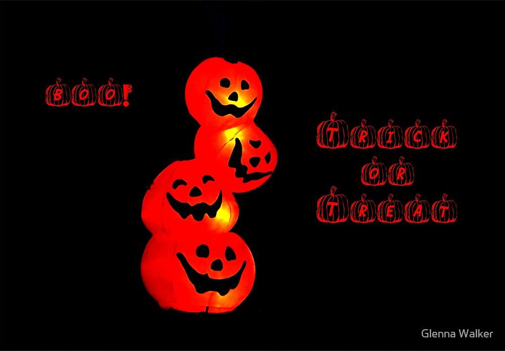 Boo! by Glenna Walker
