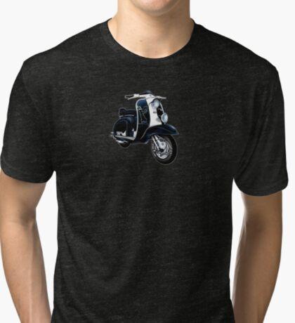Scooter T-shirts Art: Lambretta Black Devil TV Tri-blend T-Shirt