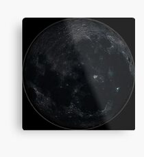 New Moon Time Metal Print