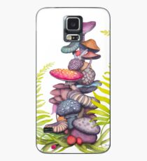 Funda/vinilo para Samsung Galaxy Mushroom Island 093017