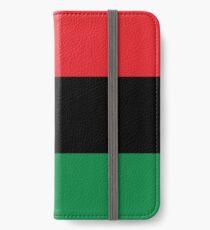Red, Black & Green Flag iPhone Wallet/Case/Skin