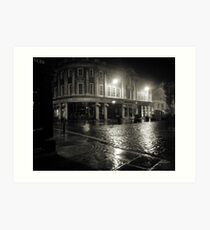 Blakes Square early dawn Art Print