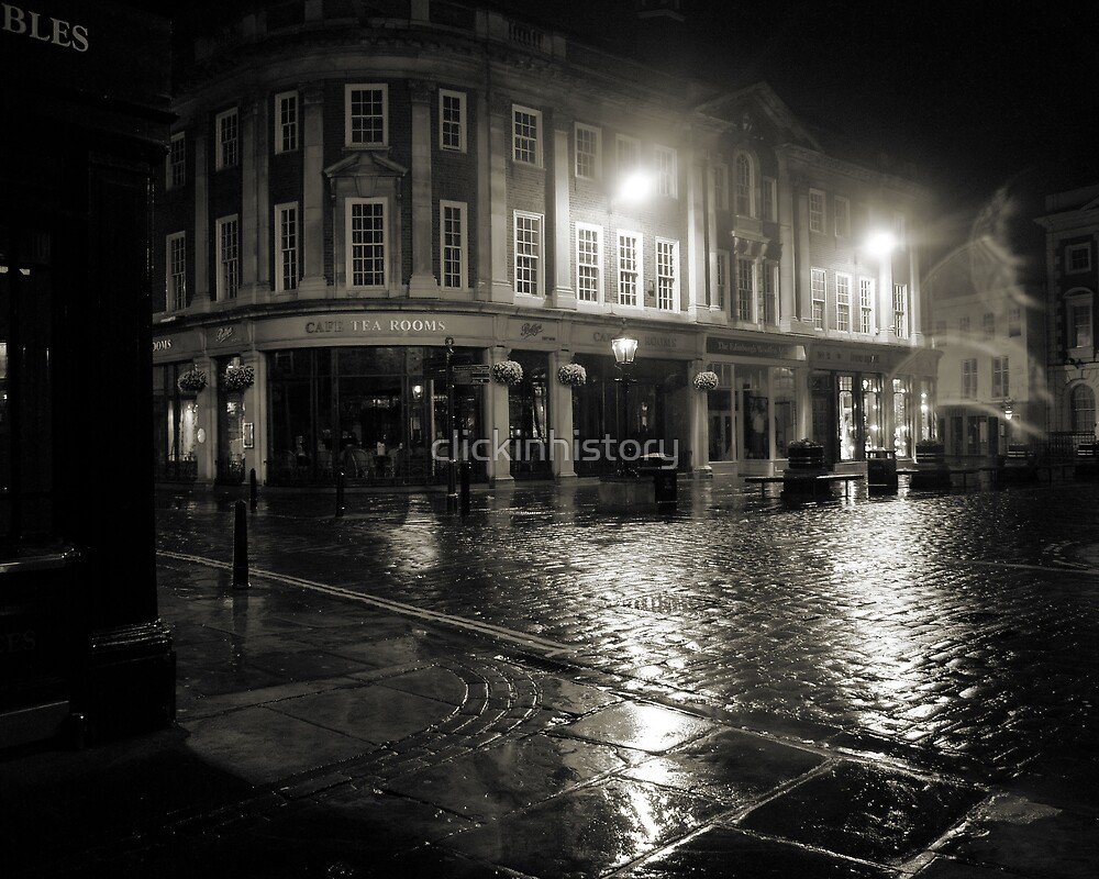 Blakes Square early dawn by clickinhistory