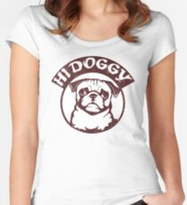 Hi doggy Women's Fitted Scoop T-Shirt