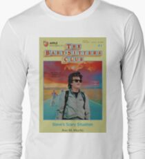 STRANGER THINGS  / BABY SITTERS CLUB MASH UP Long Sleeve T-Shirt