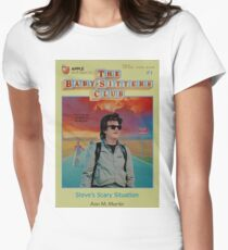 STRANGER THINGS  / BABY SITTERS CLUB MASH UP T-Shirt