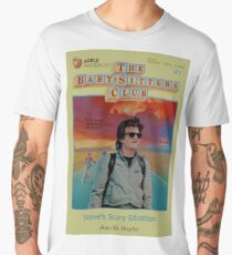 STRANGER THINGS  / BABY SITTERS CLUB MASH UP Men's Premium T-Shirt