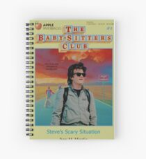 STRANGER THINGS  / BABY SITTERS CLUB MASH UP Spiral Notebook