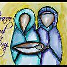 Mary and Joseph by Jenny Wood