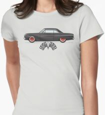 63 Rat Rod Falcon Women's Fitted T-Shirt