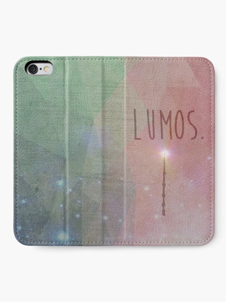 Alternative Ansicht von Lumos iPhone Flip-Case