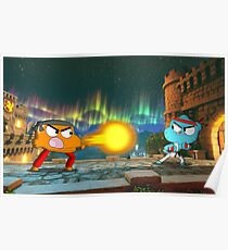 Gumball Fighter Poster