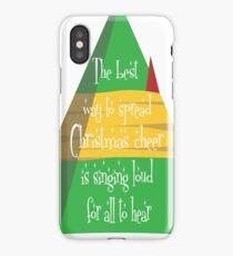 Elf - Christmas Cheer iPhone Case/Skin
