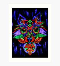 Goa Wolf Art Print
