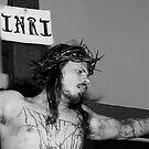 Crucifixion INRI by Deanna Roy