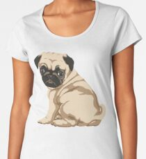 Pug Puppy Women's Premium T-Shirt