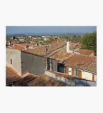 Arles Rooftops Photographic Print