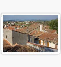 Arles Rooftops Sticker