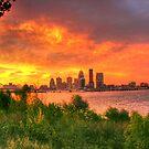 Louisville Sunrise by LizzieMorrison