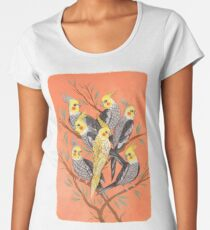 Cockatiel Fun Women's Premium T-Shirt
