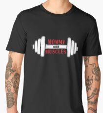Mommy With Muscles Men's Premium T-Shirt