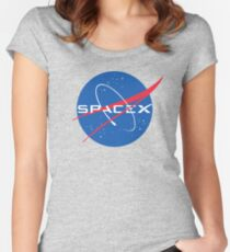 NASA Space X Women's Fitted Scoop T-Shirt