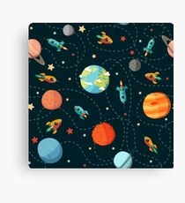 Space Adventure Canvas Print