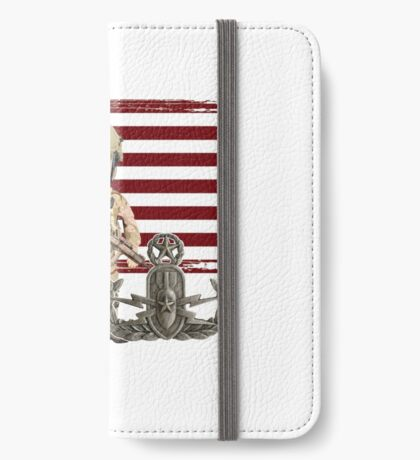 EOD Proud Veteran iPhone Wallet