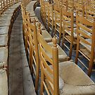 Church-chairs by Arie Koene