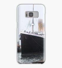 Titanic prepares to leave port, 1912 Samsung Galaxy Case/Skin
