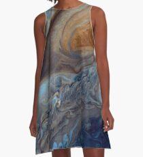 Jupiters Wolken A-Linien Kleid