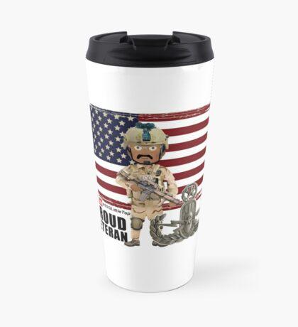 EOD Proud Veteran Travel Mug