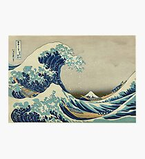 Best Price T-Shirts etc - Hokusai - the great wave off Kanagawa - 1823 Photographic Print