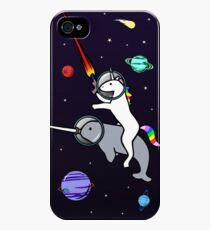 Unicorn Riding Narwhal In Space iPhone 4s/4 Case