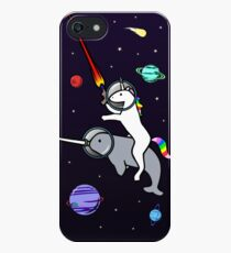 Unicorn Riding Narwhal In Space iPhone SE/5s/5 Case