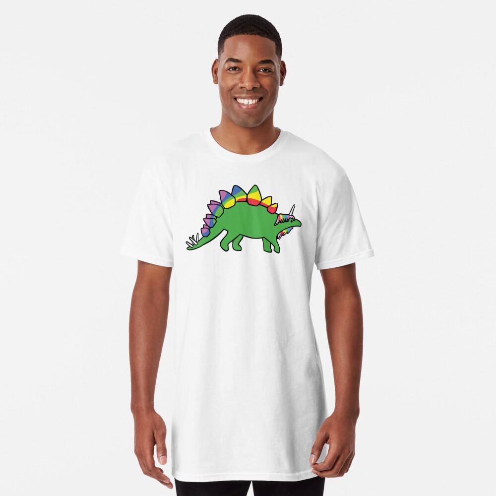 Stegocorn (Einhorn Stegosaurus) Longshirt