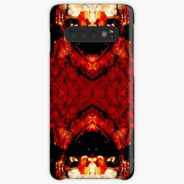 Red Horns Samsung Galaxy Snap Case