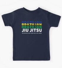 JIU JITSU - BRAZILIAN JIU JITSU Kids Tee