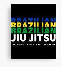 JIU JITSU - BRAZILIAN JIU JITSU Canvas Print