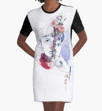 CELLULAR DIVISION by elena garnu Graphic T-Shirt Dress