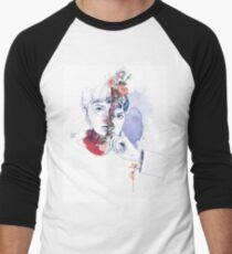 CELLULAR DIVISION by elena garnu Men's Baseball ¾ T-Shirt