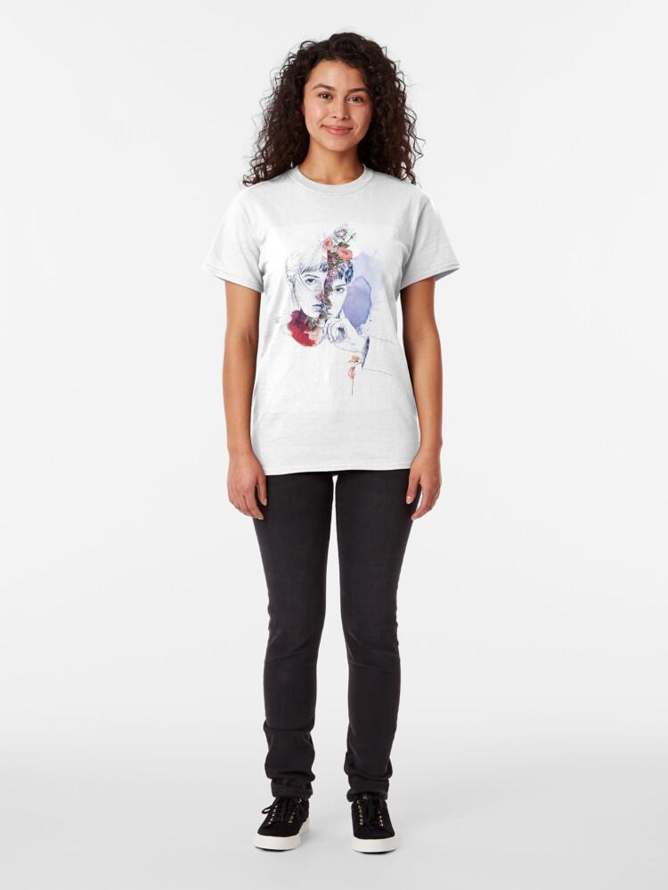 Vista alternativa de Camiseta clásica DIVISIÓN CELULAR by elena garnu