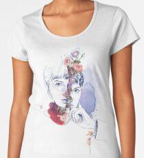 CELLULAR DIVISION by elena garnu Women's Premium T-Shirt