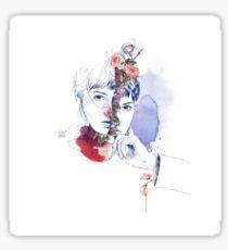 CELLULAR DIVISION by elena garnu Sticker