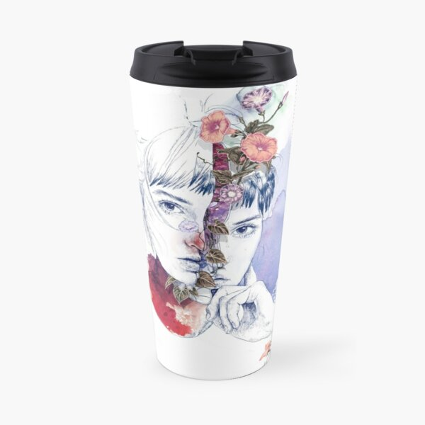 CELLULAR DIVISION by elena garnu Travel Mug