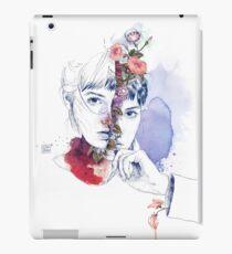 CELLULAR DIVISION by elena garnu iPad Case/Skin