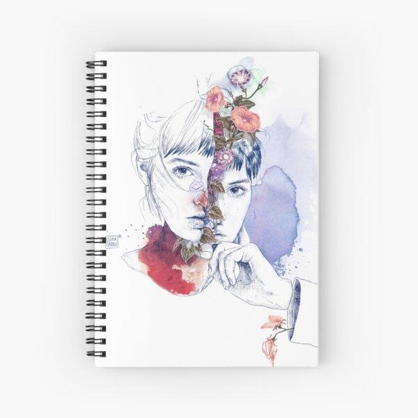 CELLULAR DIVISION by elena garnu Spiral Notebook